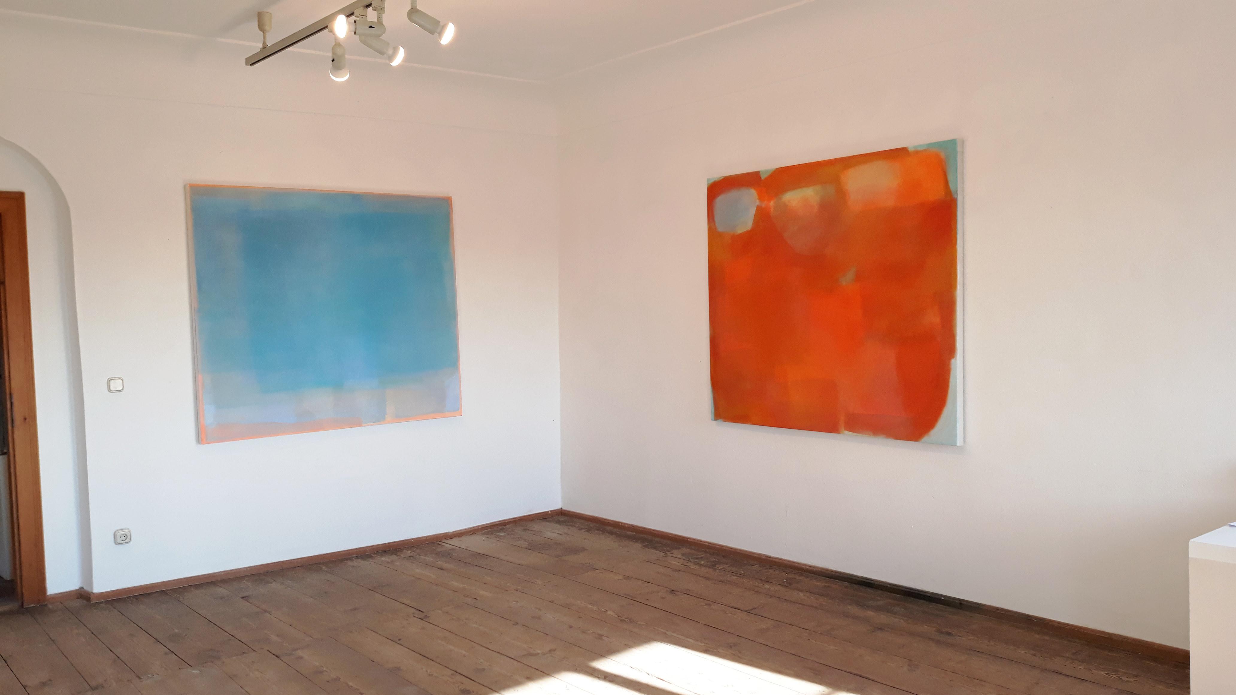 Raumansicht Ausstellung DIE BURG