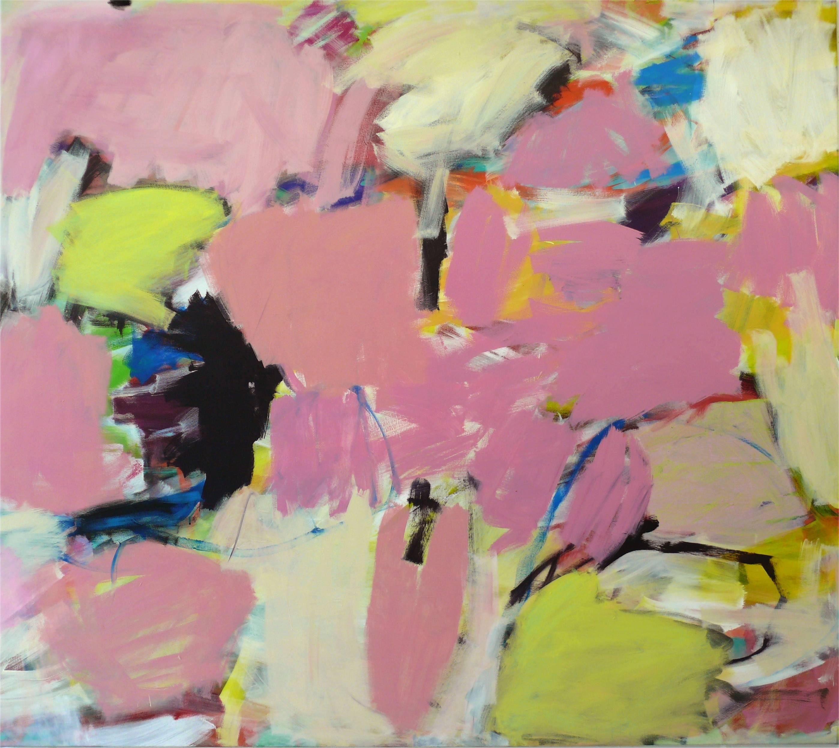 7 o.T. Acryl auf Leinwand 160x180 cm