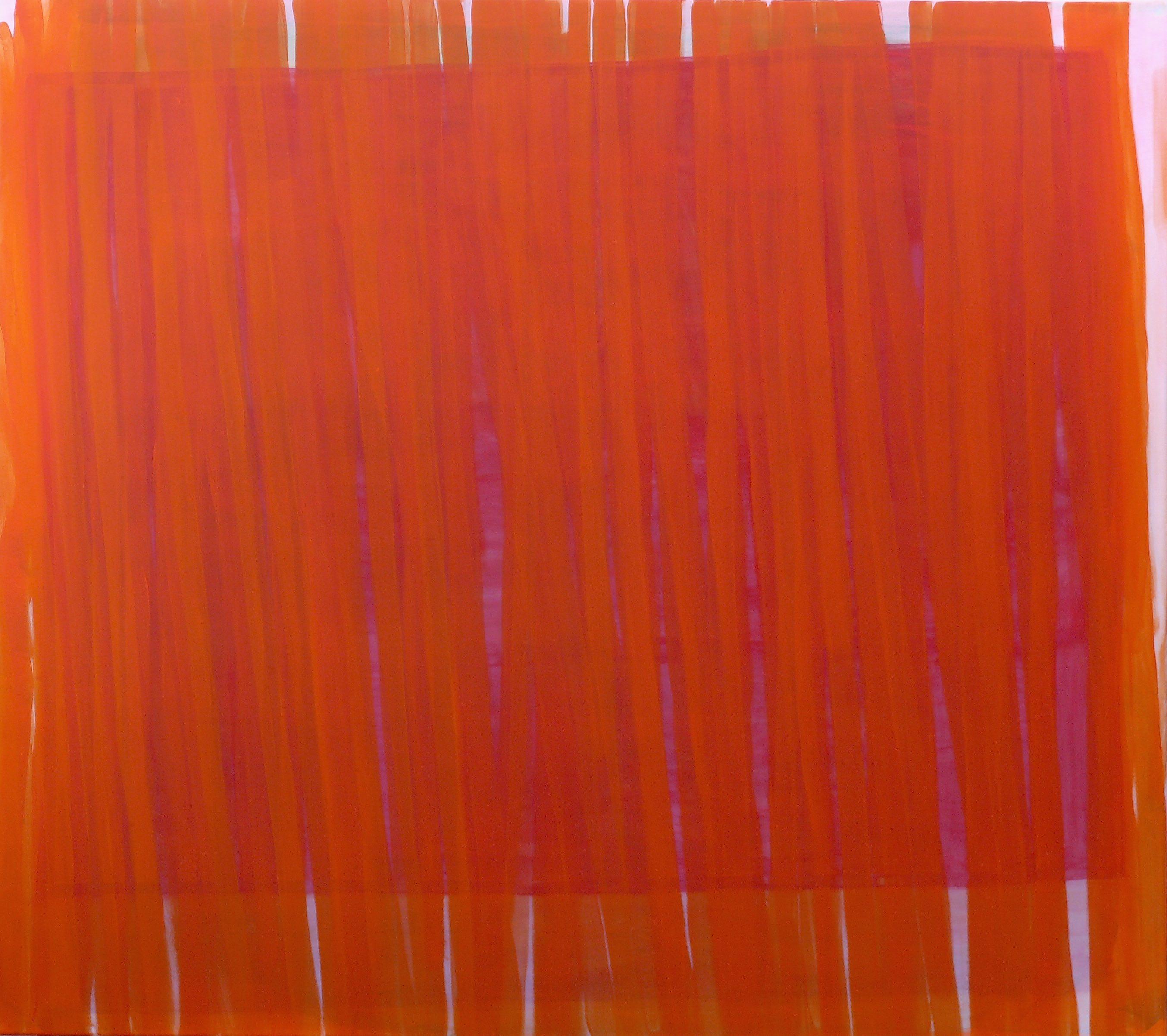 Horizont II 2017 Acryl auf lwd 160 x 180 cm