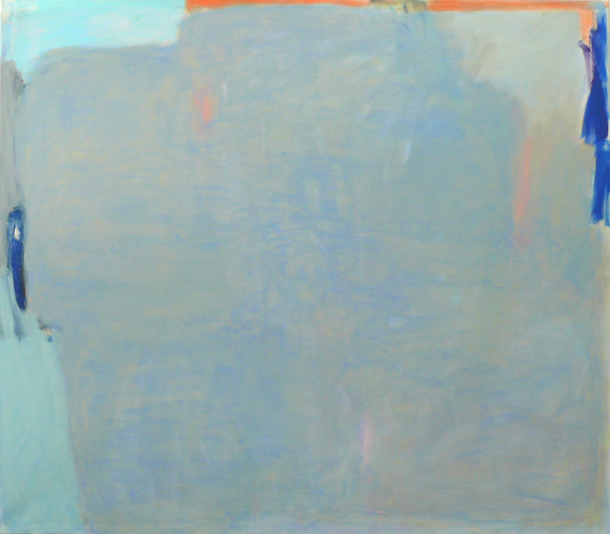 Horizont, 2017 Acryl auf Leinwand, 140x160 cm