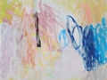 o.T. 2017 Acryl auf Leinwand 40x40 cm