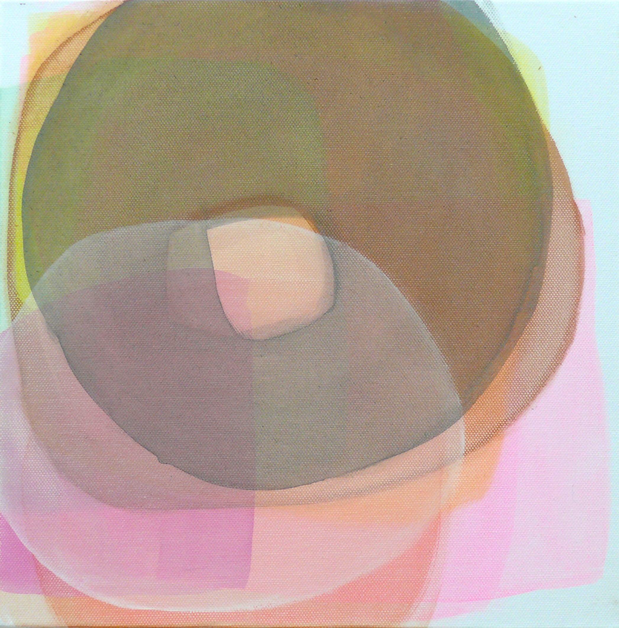 o.T. 2018 Acryl auf Leinwand 30x30 cm