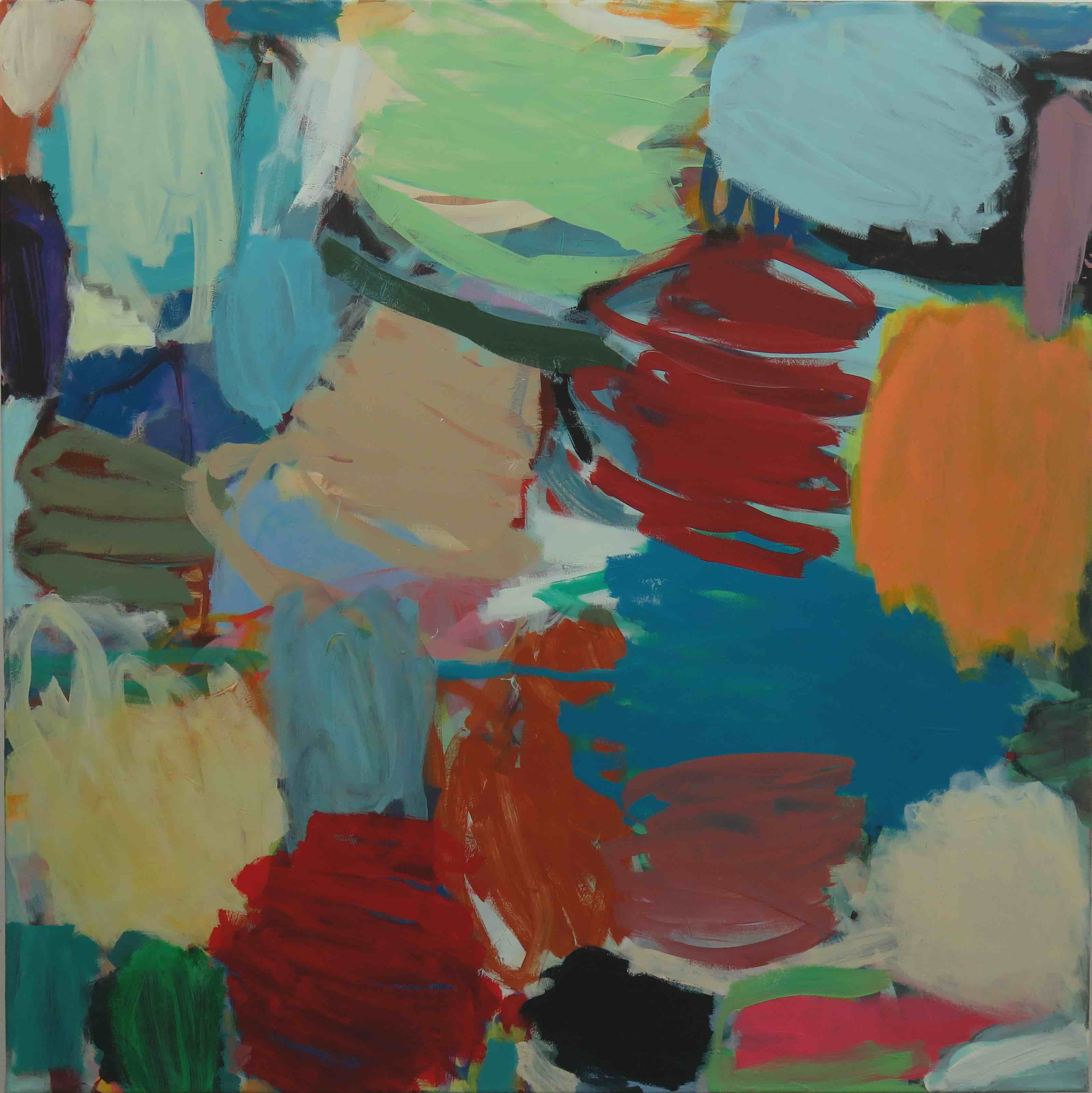 21_2012 Acryl auf Lwd 60x190cm