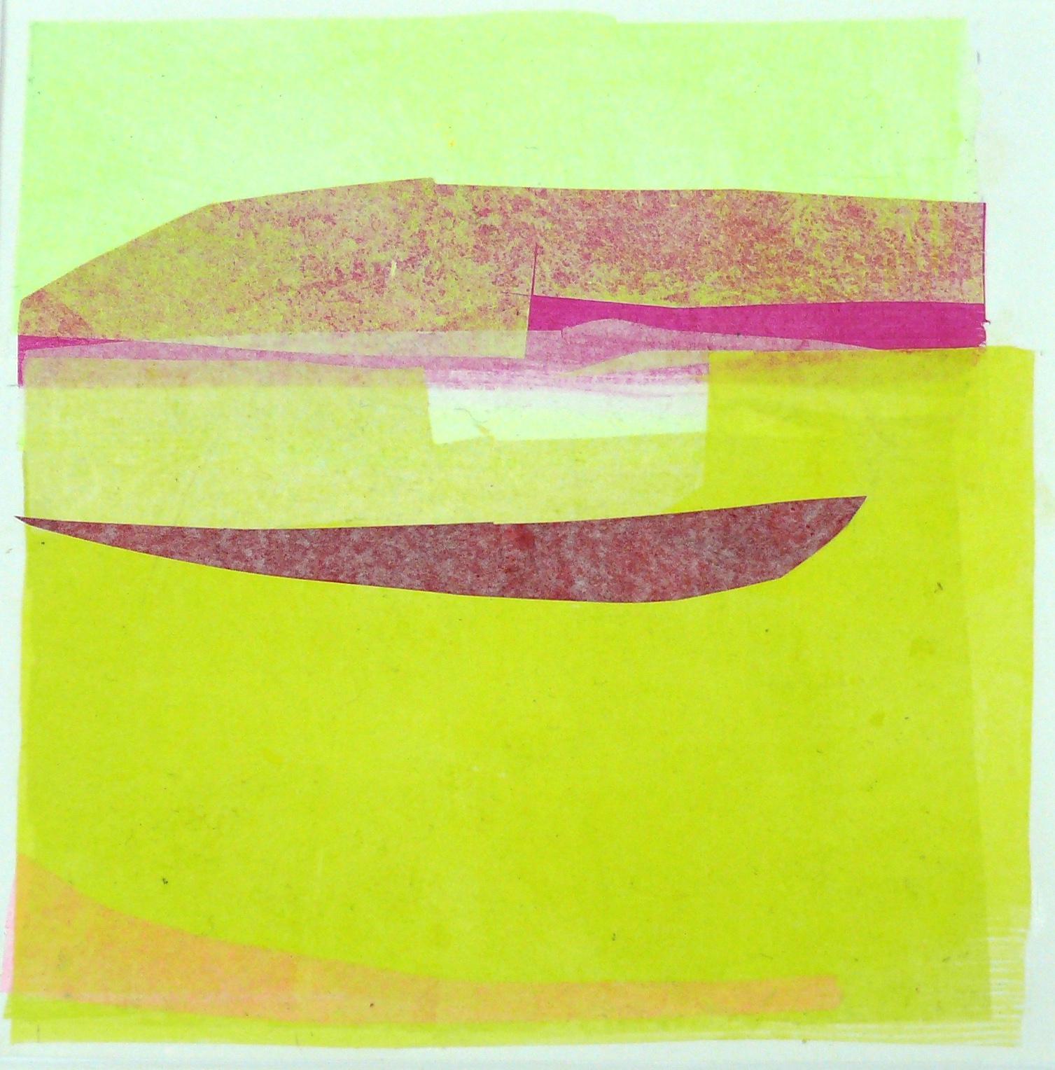 Papiercollage, 20 x 20 cm